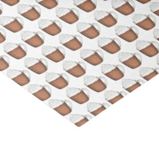 Hot Chocolate Cocoa Winter Christmas Tissue Paper