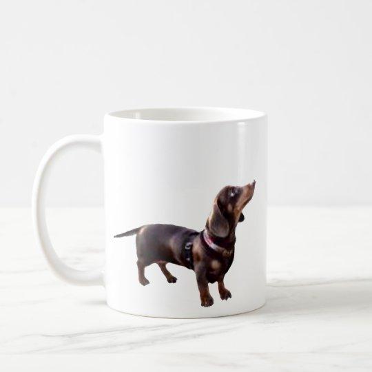 HOT CHOCOLATE? dachshund coffee mug