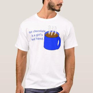 Hot chocolate is a girl's best friend T-Shirt