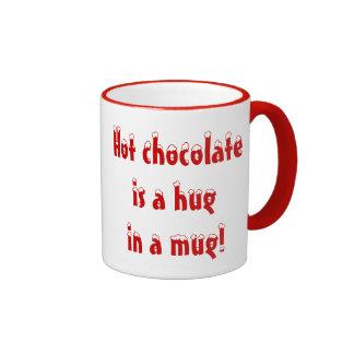 Hot Chocolate is a Hug in a Mug