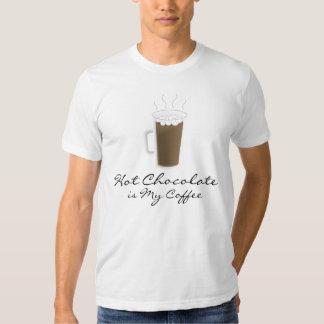 """""""Hot Chocolate is My Coffee"""" Shirt"""