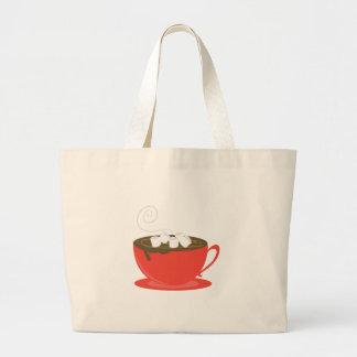 Hot Chocolate Jumbo Tote Bag