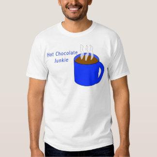 Hot Chocolate Junkie Shirts