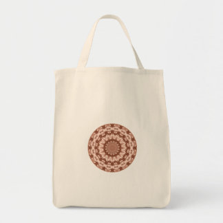 Hot Chocolate Kaleidoscope Tote Bags