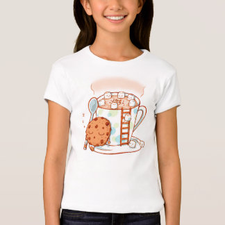 Hot Chocolate Kids Illustration T Shirt