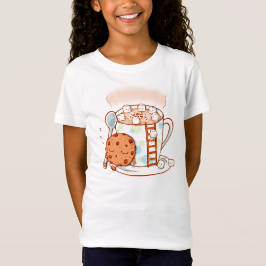 Hot Chocolate Kids Illustration T Shirt