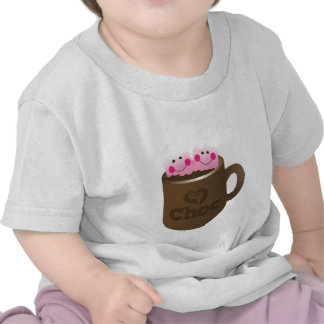 hot chocolate marshmallows t shirts