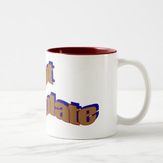 Hot Chocolate - Mmmm Two-Tone Coffee Mug