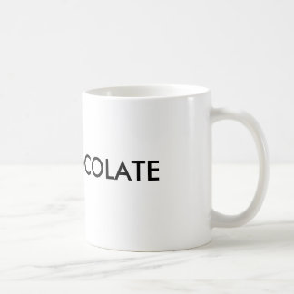 HOT CHOCOLATE BASIC WHITE MUG
