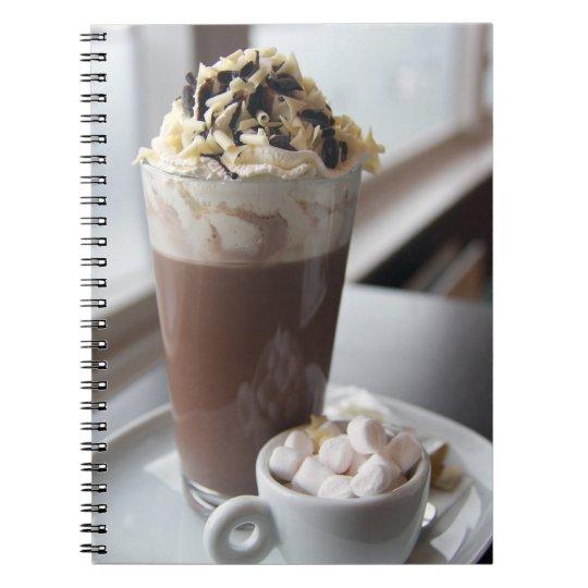 hot chocolate note book