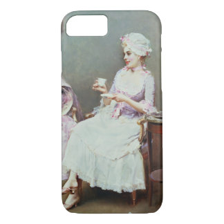 Hot Chocolate (oil on canvas) iPhone 8/7 Case
