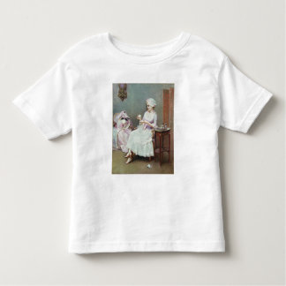 Hot Chocolate (oil on canvas) Toddler T-Shirt