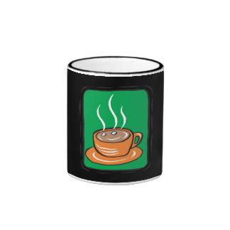 Hot Chocolate Ringer Mug