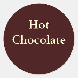 """Hot Chocolate"" Sticker - Simple & elegant"