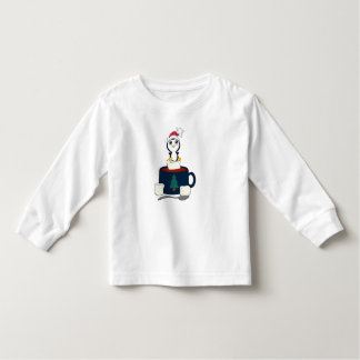Hot Chocolate with Marshmallows Christmas Penguin Tshirt