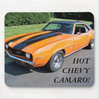 HOT CLASSIC CHEVY CAMARO Mouse Pad