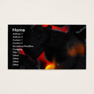Hot Coals Business Card