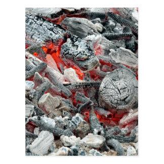 Hot Coals Postcard