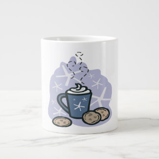 Hot Cocoa And Cookies Extra Large Mugs