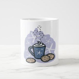 Hot Cocoa And Cookies Jumbo Mug