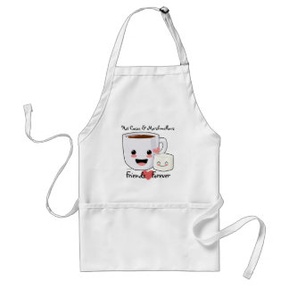 Hot Cocoa and Marshmallow Apron
