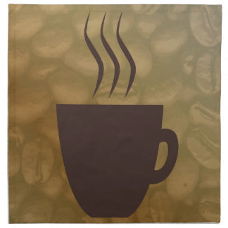 Hot Coffee Background Napkin