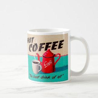 Hot Coffee Basic White Mug