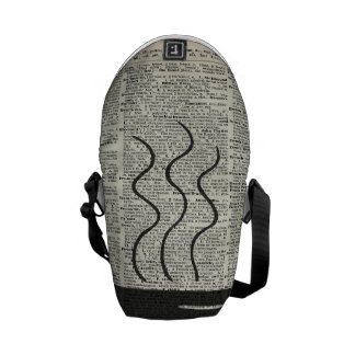 Hot Coffee Cup Courier Bag