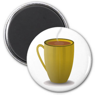 hot coffee cup_Vector_Clipart Refrigerator Magnets