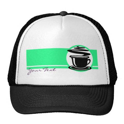 Hot Coffee design Mesh Hat