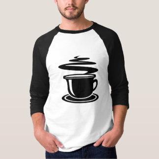 Hot Coffee design T-Shirt