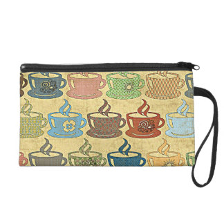 HOT COFFEE OR TEA WRISTLET CLUTCHES