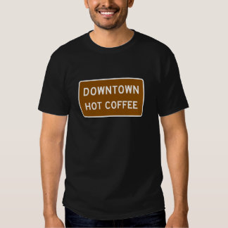 Hot Coffee, Road Marker, Mississippi, USA Tees