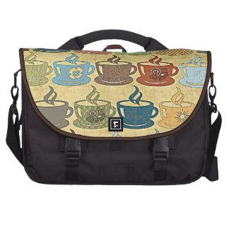 HOT COFFEE & TEA LAPTOP MESSENGER BAG