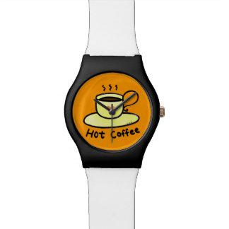 hot coffee watch