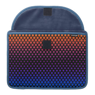 Hot Cold Fading Halftones Sleeve For MacBook Pro