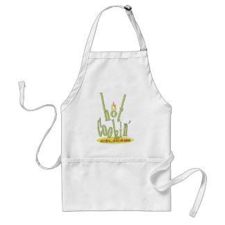 hot cookin dude apron