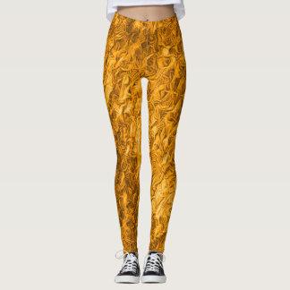 Hot Copper Top Rave Love Leggings