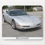 Hot Corvette! 1 Mouse Pad