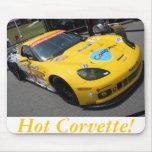 Hot Corvette! 2 Mousepads