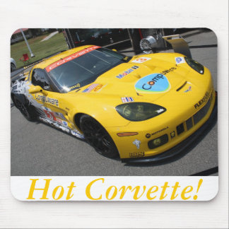 Hot Corvette 2 Mousepads