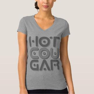 HOT COUGAR - Older Women Who Love Young Men, Gray T-shirts