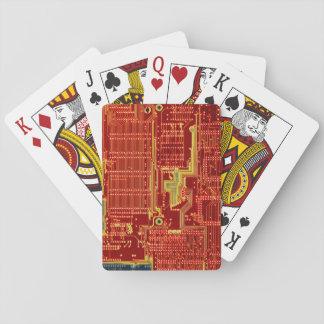 Hot CPU Meltdown playing cards