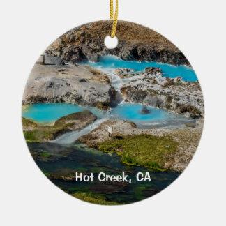 Hot Creek, California Christmas Ornament