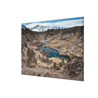 Hot Creek Gulch Canvas Print
