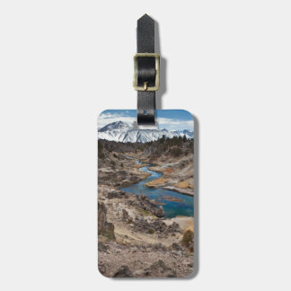Hot Creek Gulch Luggage Tag