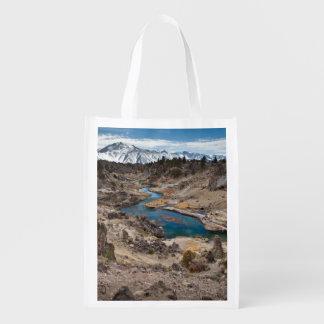 Hot Creek Gulch Reusable Grocery Bag