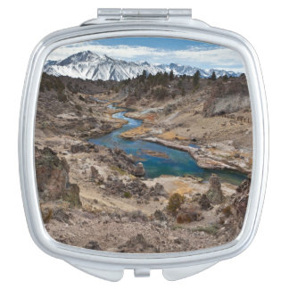 Hot Creek Gulch Travel Mirror