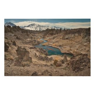 Hot Creek Gulch Wood Wall Decor