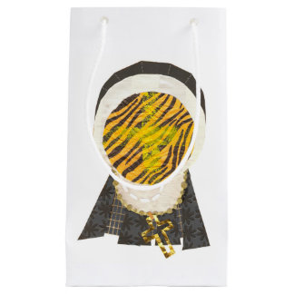Christian easter gift bags zazzle hot cross bun nun gift bag negle Choice Image